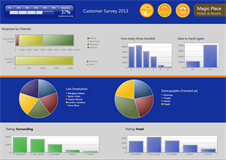 Cross media campaign dashboard